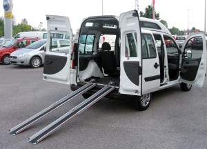 Fiat Doblò - Guide telescopiche estraibili posteriori