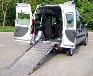 Fiat Doblò - Scivolo meccanico posteriore