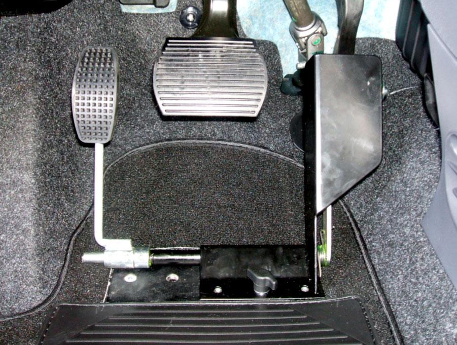 Emiplegia - Soluzione su Fiat 500 con cambio automatico