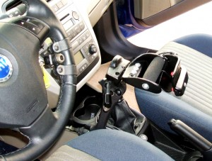 Caso di sclerosi multipla, soluzione su Fiat Grande Punto con cambio automatico