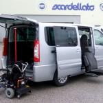Random image: Fiat Scudo - Sedile girevole e gruetta carica carrozzina