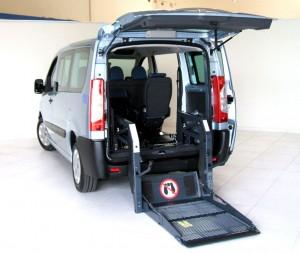Fiat Scudo - Pedana elettro idraulica posteriore