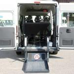 Random image: Fiat Ducato Combinato - Pedana elettro idraulica doppio braccio interna