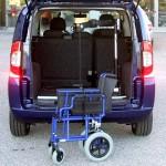 Random image: Fiat Qubo - Gruetta leggera carica carrozzina