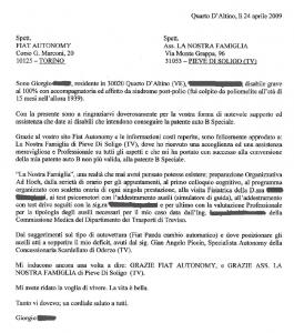 Scardellato - Piccin - Testimonianza di Giorgio