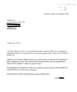 Scardellato - Piccin - Testimonianza di Leone