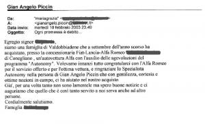 Scardellato - Piccin - Testimonianza di Mariagrazia